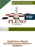 Delimitacion Del Area de Influencia Social PLENO Oct 2016