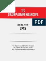 Kumpulan Soal TKD CPNS Lengkap