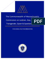 FY18 Recommendations - LGBTQ Youth Commission