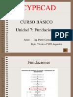 Curso Basico Cypecad 7-Fundaciones