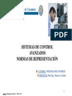 11 Sistemas de Control Avanzados Normas de Representación 2017