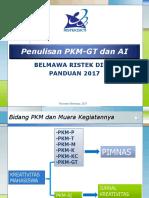 PKM GT Dan AI Panduan 2017