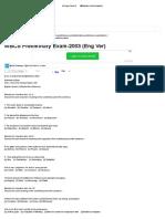 WBCS Preliminary Exam-2003 (Eng Ver) _ Bengalstudents