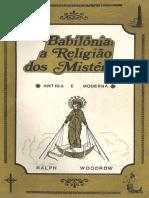 Babil_nia a Religi_o de Mist_rios - Ralph Woodrow