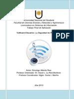 8 Software Educativo La Seguridad en Redes WiFi