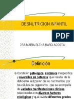 2. Desnutricion pediatrica