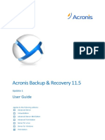 Acronis Backup & Recovery 11.5 User Guide