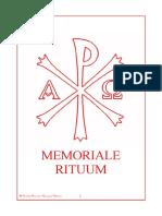 Memoriale Rituum