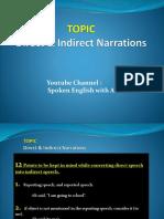 Direct & Indirect Narrations - Spoken English with Azhar Nawaz