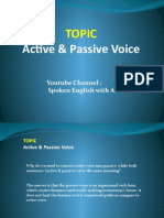 Active & Passive Voice by Azhar Nawaz