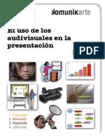 Los audiovisuales en la presentación