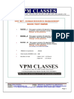 Take Home Exam - Human Resources Management Test