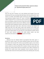 Konformasi DNA Dan Perbaikan Kerusakan Polimer Alami DNA Oleh Antitumor Azolato