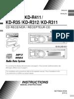 JVC KD-R416