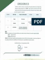 Convocatoria Ndeg 93 Etapa i y Etapa II Comunicacion y Educacion Fisica