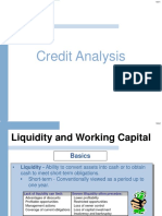 FSA 3 Credit Analysis