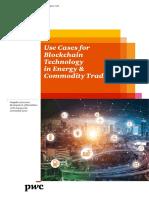 Blockchain Technology in Energy