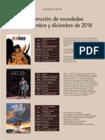 Novedades de Ponent Mon Para Nov-dic 2018