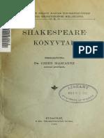 Shakespeare Könyvtár