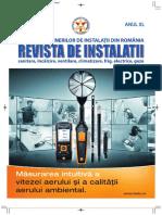 Revista de Instalatii, sanitare incalzire ventilare climatizare frig electrice gaze nr 03 din 2018