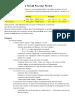 Bio E1a 2016 Review Outline c 4