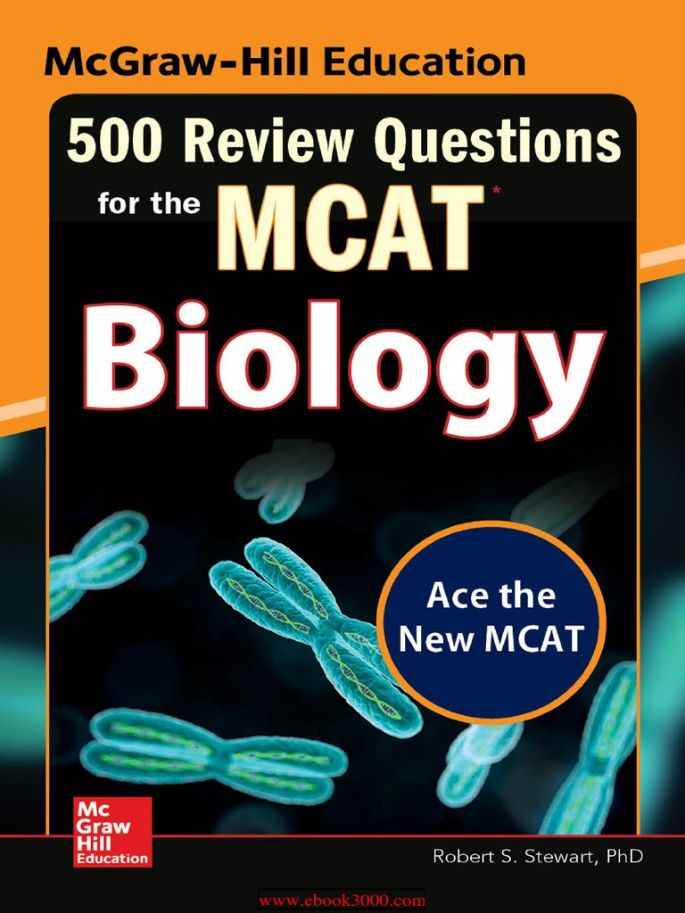 500 Review Questions for the MCAT Biology, 2 Edition