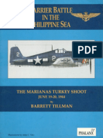 Carrier Battle in the Philippine Sea the Marianas Turkey Shoot June 19-20-1944