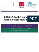 unicef juvenile crime   violence 2018-19 background guide