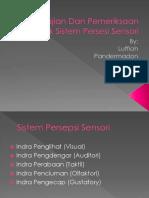 Pengkajian Dan Pemeriksaan Fisik Sistem Persesi Sensori