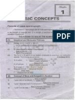 Notes of Important Questions Answers of Fsc 11th Chemistry Chapter 1