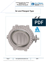 Product Group AV-E, Double Eccentric Disc Seated Butterfly Valves (en-2015)