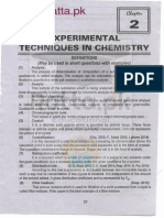 Notes of Important Questions Answers of Fsc 11th Chemistry Chapter 2