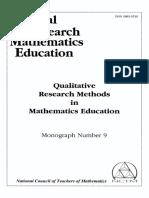 Anne R. Teppo. Qualitative Research Methods in Mathematics Education.pdf