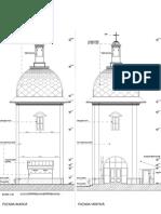 Clopotnita-Biserica Sf Voievozi Roman-Fatade SV