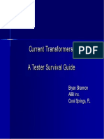 Current Transformers- A Tester Survival Guide