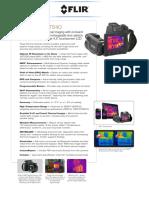 Flir t620 Datasheet