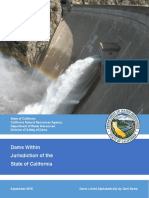 Dams Within Jurisdiction of the State of California 2018 Alphabetically by Dam Name (1)