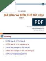 Chương 3 - Mã hóa và điều chế dữ liệu- Phần 1