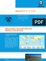Litio - Commodities.pptx