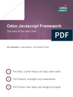 State of the Odoo JS Framework