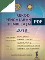 DIVIDER BUKU REKOD PENGAJARAN DAN PEMBELAJARAN 2018 sk jaya gading.pptx