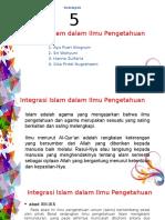 Integrasi Islam Dalam Ilmu Pendidikan