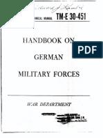 TM 30-410 Handbook on German Forces(15mars1945)