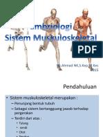 Embriologi Tulang
