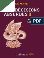 Les Decisions Absurdes Tome 2