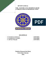 Review Jurnal BAB 11_Pengauditan 1_Program Ekstensi_Kelompok 10