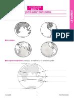 Fiche Pédagogique - Géographie CM. Le Monde _ Docs en Stock