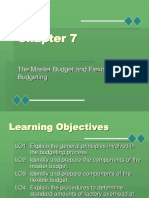 Chapter7Master Budgeting.ppt