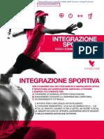 Brochure Sport - integrazione sportiva (italiano). I consigli della Forever per sportivi!