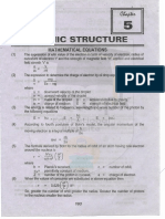 Notes of Important Questions Answers of Fsc 11th Chemistry Chapter 5